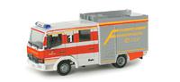 Mercedes-Benz Atego LF10/6 Feuerwehr Hagen Herpa 048576 masstab 1/87