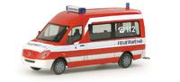 """Mercedes-Benz Sprinter Bus """"Feuerwehr Nürnberg"""" Herpa 048187 Masstab 1/87"""