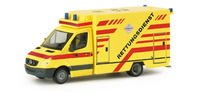 Mercedes-Benz Sprinter RTW Feuerwehr Dresden Herpa 048118 Masstab 1/87
