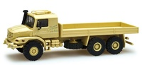 "Mercedes-Benz Zetros 6x6 ""The world is with Japan"" Herpa escala 1/87"