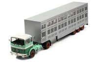 Mercedes Lps 1632 + transporte animales - Ixo Models 1/43