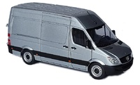 Mercedes Sprinter plateado Marge Models 1905-03 escala 1/32
