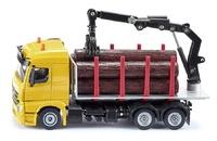 Mercedes transporte troncos con grua Siku 2714 escala 1/50