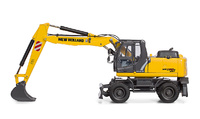 MobilbaggerNew Holland We 170b Motorart 13787 Masstab 1/50