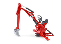 Moser accesorio excavadora para tractores Siku 2066 escala 1/32