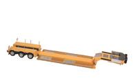 Nooteboom Pendel X 3 ejes amarilla Nzg Modelle 655/60 escala 1/50