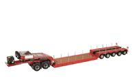 Nooteboom Pendel X 5 ejes rojo Nzg Modelle 656/10 escala 1/50