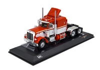 Peterbilt 359 rojo/blanco - Ixo Models 1/43