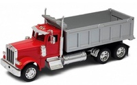 Peterbilt 379 volquete rojo Welly 39944 escala 1/32