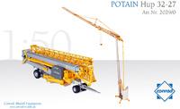 Potain Hup 32-27 grua automontante Conrad Modelle 2029 escala 1/50
