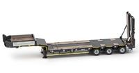 Premium Series Goldhofer 3 ejes plataforma baja Imc Models 0079