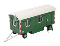 Remolque Caseta Obra verde Nzg Modelle 505/30 escala 1/50