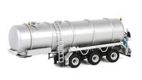 Remolque cisterna con bomba Wsi Models 1124