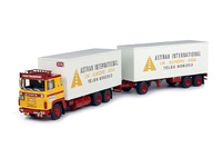 Scania 140 con remolque Astran International Tekno 63750 escala 1/50