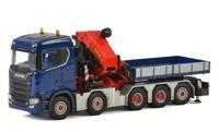 Scania CR20N 10x4 + Grua Palfinger 150002 SH Wsi Models 2053