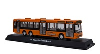 Scania Omnilink Oranje - Cararama 567  Masstab 1/50