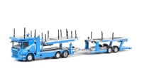 Scania P6 techo bajo transporte de coches Wsi Models 2646