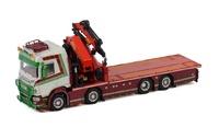 Scania R + Palfinger Pk 92002 - Transport van caudenberg Wsi Models 2957