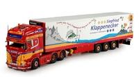 Scania R + frigo KlappeneckerTekno 69389 1/50