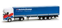 """Scania R 09 TL tautliner """"Heisterkamp"""" (NL), Herpa 1/87 158398"""