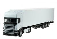 Scania R 4x2 caja cerrada Holland Oto 8-1550 escala 1/50