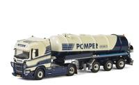 Scania R CS20H + cisterna 3 ejes Pomper Wsi Models 01-2470