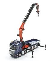 Scania R Highline 10x4 + Grua Palfinger 150002 SH Wsi Models 1652