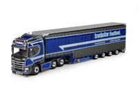 Scania R Highline con trailer Meusberger Tekno 71238 escala 1/50
