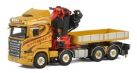 Scania R Streamline Highline + Fassi 1100 + Ballast box Thuries Wsi Models 01-2332