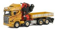 Scania R Streamline Highline + Fassi 1100 + Ballast box Wsi Models 01-2332