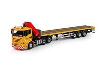 Scania R-Streamline con remolque y grua - Vismara - Tekno 69631 escala 1/50