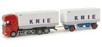"""Scania R TL  """"Circus Knie"""" (CH) 1/87 Herpa"""