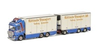 Scania R Topline + remolque -Rüttners Transport - Wsi Models