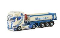 Scania R Topline + volquete 3 ejes Steurer Wsi Models