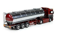 Scania R con cisterna Transportbrug Tekno 73452 escala 1/50