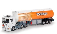 Scania R-serie + cisterna gasolina Tekno 60727 escala 1/50