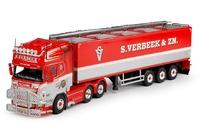 Scania R-serie Topline + Auflieger für Kartoffeln Verbeek Tekno 63497 Masstab 1/50