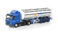 Scania R113/R143 Streamline + cisterna Wsi Models 07-1025 escala 1/50