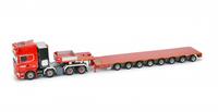 Scania R4 Topline tieflader 8 achs Tonkin Replicas 527.49.93 Masstab 1/50