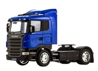 Scania R470 azul Welly 32625b escala 1/32