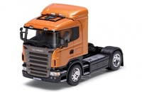 Scania R470 naranja Welly 32625 escala 1/32