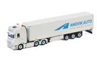Scania S Highline + Kühlauflieger - Angvik Auto Wsi Models escala 1/50