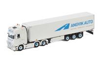 Scania S Highline + frigo 3 ejes - Angvik Auto Wsi Models escala 1/50