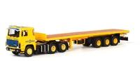 Scania Serie 1 + Flachbettauflieger Wsi Models 06-1082
