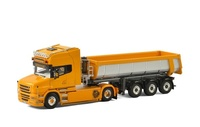 Scania T6 Torpedo + volquete bañera Zimmermann Wsi Models 01-2164