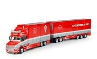 Scania T6 series Topline + remolque Verbeek Tekno 67102 escala 1/50