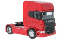Scania V8 R730 4x2 rojo Welly 32670s escala 1/32