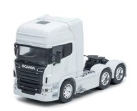 Scania V8 R730 6x4 - blanco - Welly 32670 escala 1/32