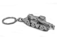 Schlüsselanhänger aus Metall vom Kran Demag AC45 Imc Models