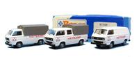 Set de 3 furgonetas Vw T2 Heitcamp Roco 1566